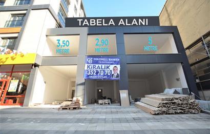ana cadde üzeri 350 m2 kiralık mağaza