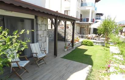 Bodrum Aura Residence Sezonluk Kiralık Bahçe Katı