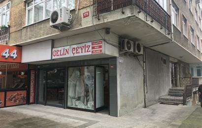 Erenköy'de cadde üzeri 26m2 her işe uygun Satılık Köşe Dükkan